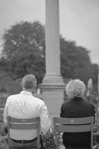 ein altes Paar.
