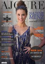 AJOURE´ Cover Monat September 2016