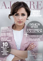 AJOURE´ Cover Monat August 2015