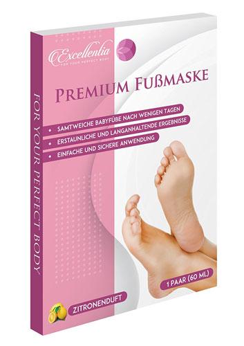 Excellentia Premium Fuß Peeling Maske