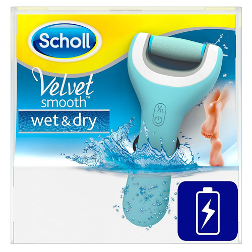 Scholl  Velvet Smooth wet & dry Pedi Pro
