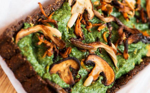 Spinatquiche – vegan & glutenfrei