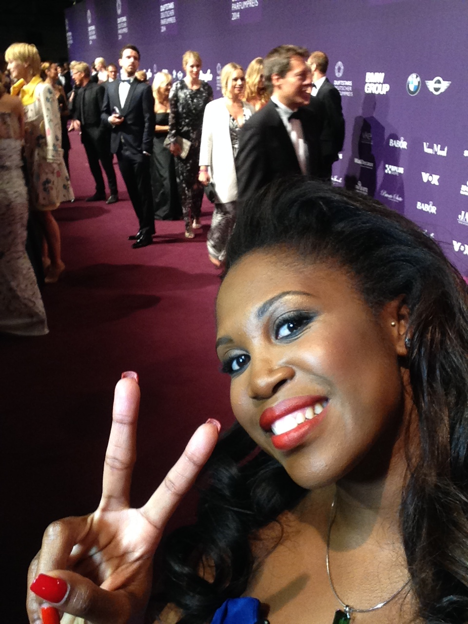 AJOURE Selfie mit Motsi Mabuse
