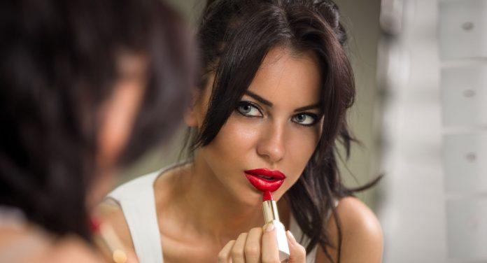 Lippenstift Persönlichkeit