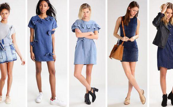 Denim Dresses – Die schönsten Jeans-Kleider