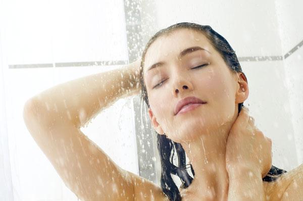 kalte Dusche am morgen