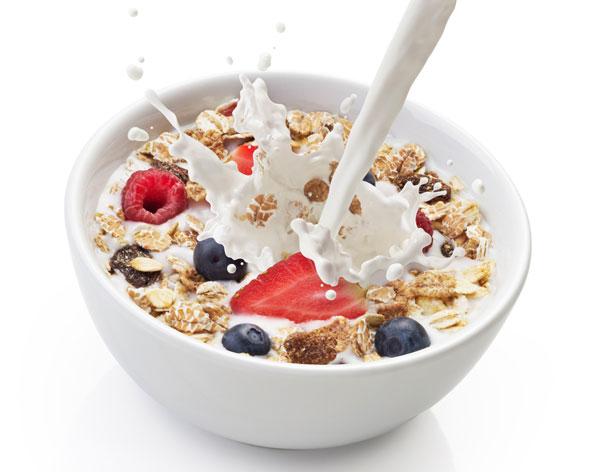 schnelles gesundes Frühstück