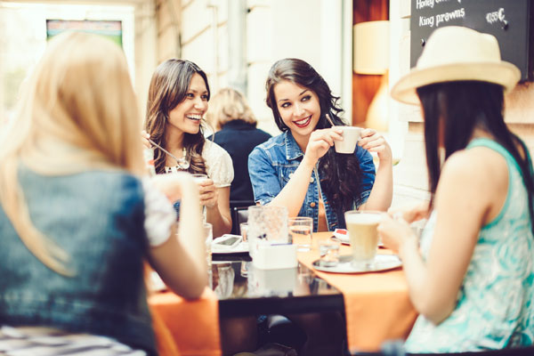 Feierabend geniessen Single Frauen