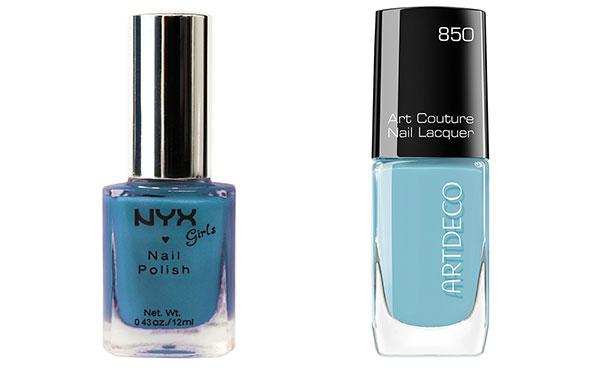 Nagellack Trend meerblau