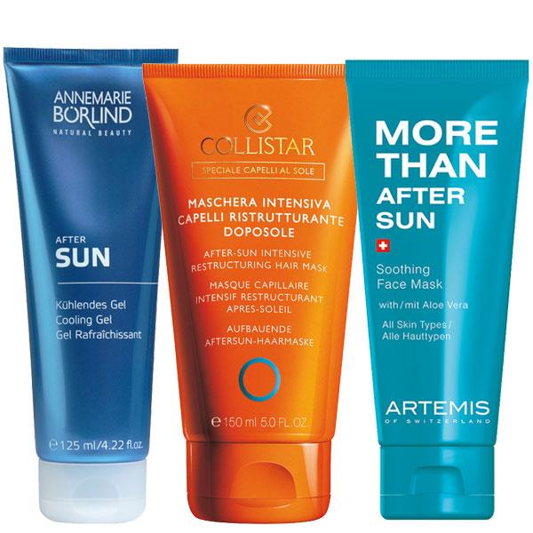 Sonnen-Pflege für Haut und Haare