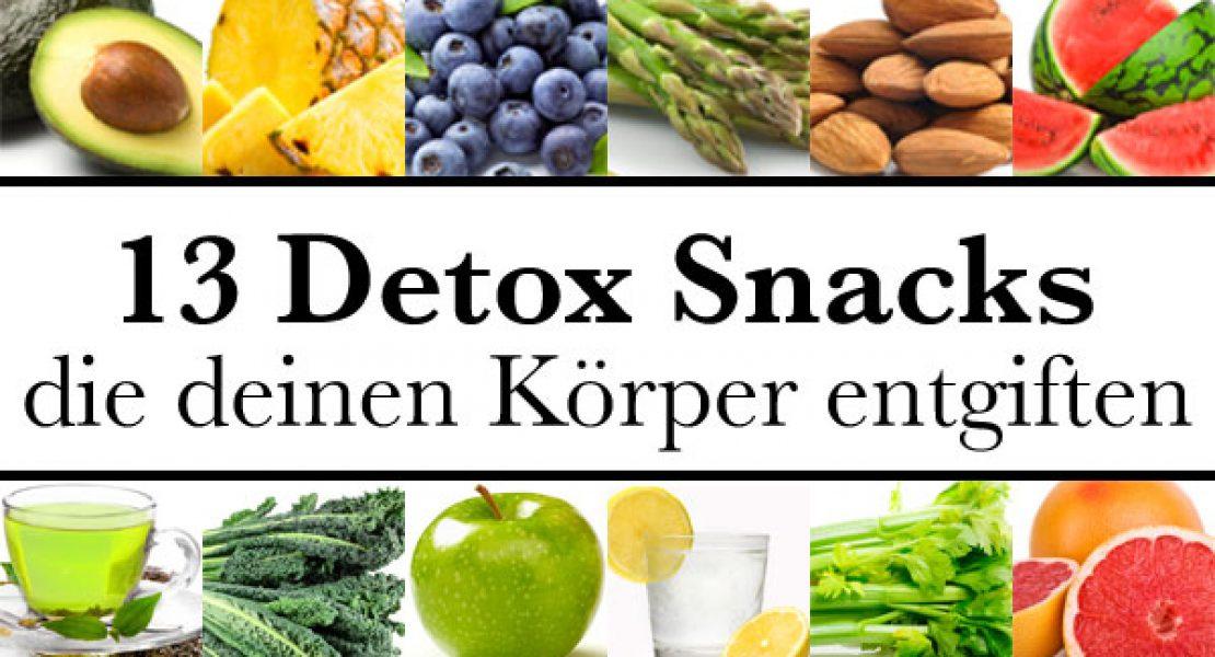 13 detox snacks die deinen k rper entgiften. Black Bedroom Furniture Sets. Home Design Ideas