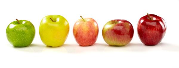 Detox Snacks - Äpfel