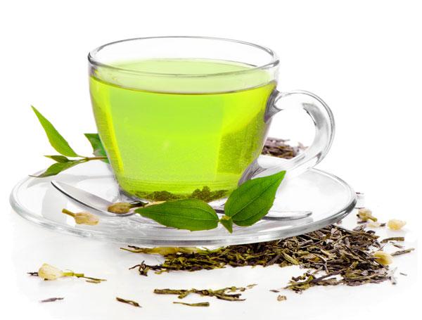 Detox Snacks - Grüner Tee
