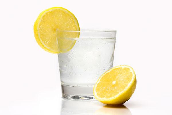 Detox Snacks - Zitronenwasser