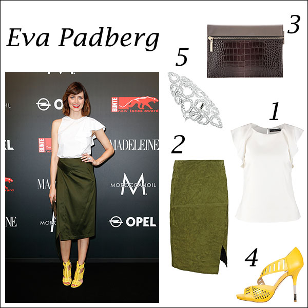 Eva Padberg - Get The Look