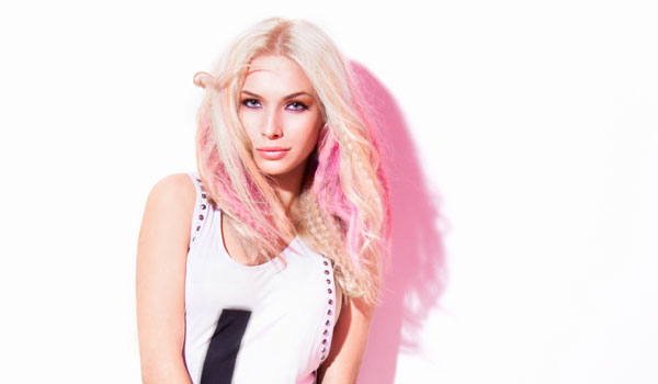 Haartrend Pastelltöne