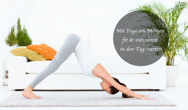 Yoga am Morgen