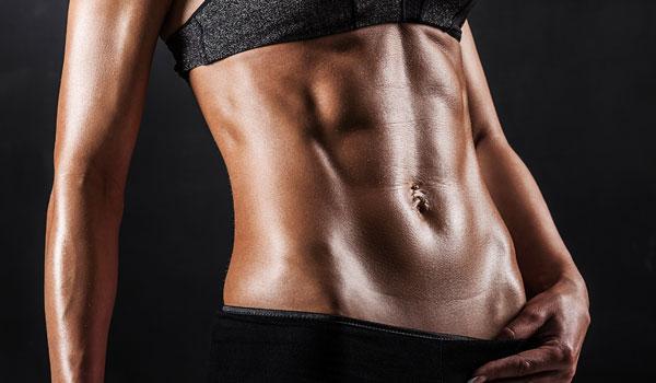 Bauchmuskeln sind zu schwach ausgeprägt