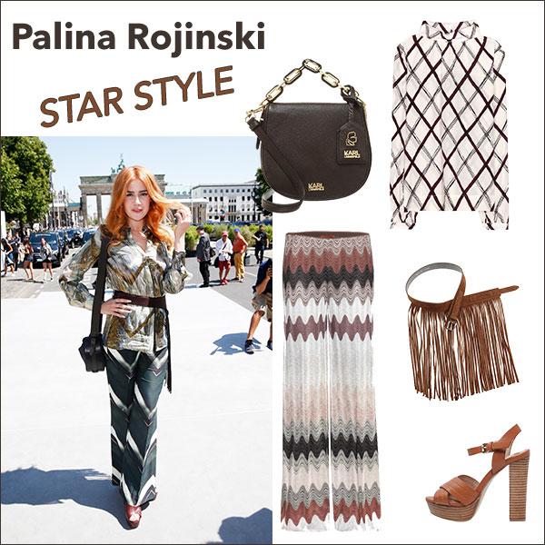 Outift von Palina Rojinski