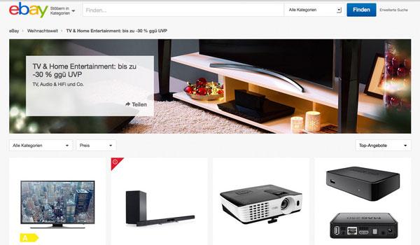 eBay Home Entertainment Sale