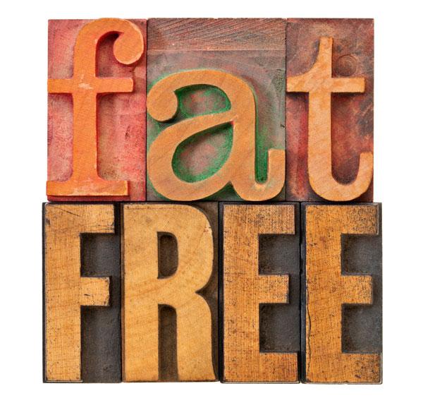 Ernährungssünde Fett vermeiden