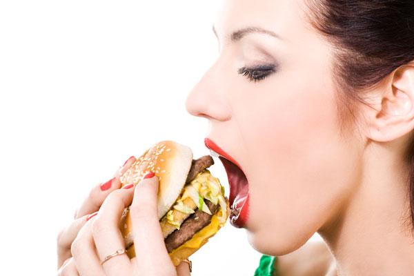 Ernährungssünde zu viel Fleisch