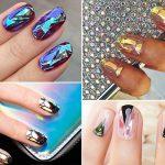 Wie Diamanten schimmert der neue Trend Glass Nails auf deinen Nägeln.