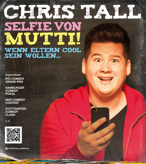 Chris Tall Event Tour Plakat