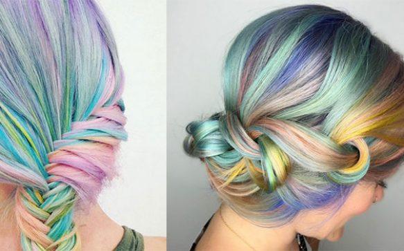 Bist du bereit für den Haartrend Macaron Hair?