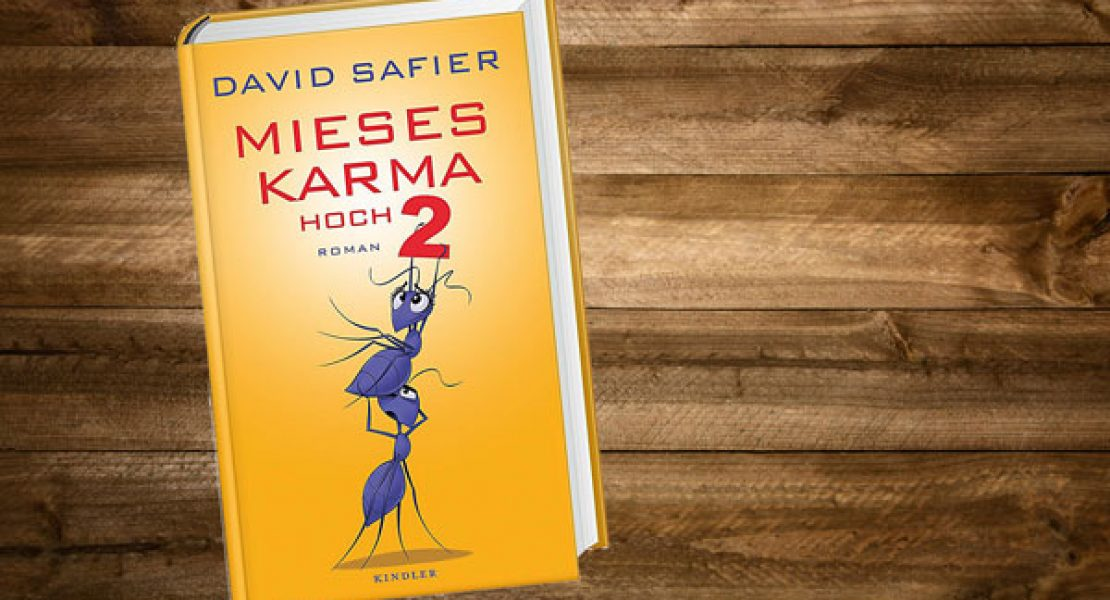 Buchtipp: Mieses Karma hoch 2 von David Safier