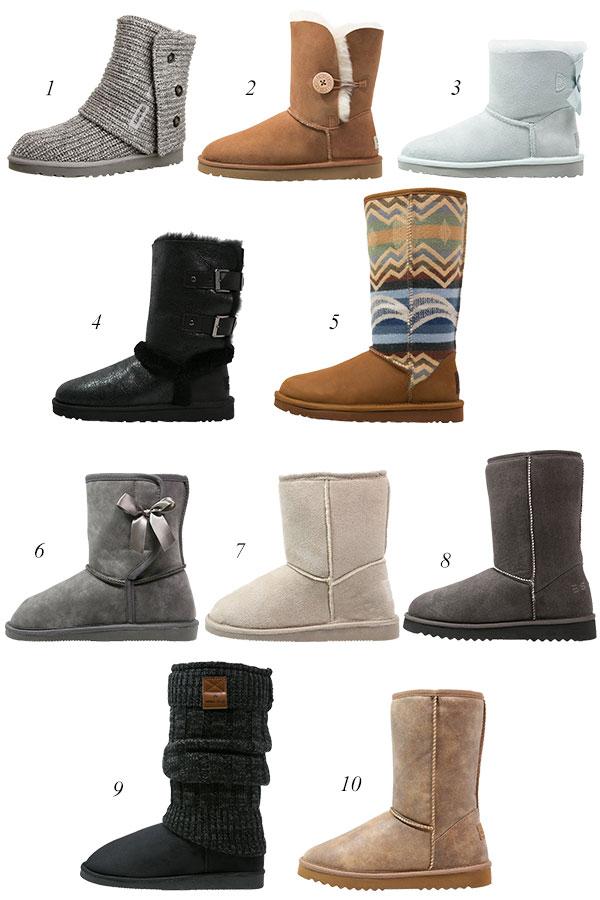 Fellstiefel UGG Australia Boots