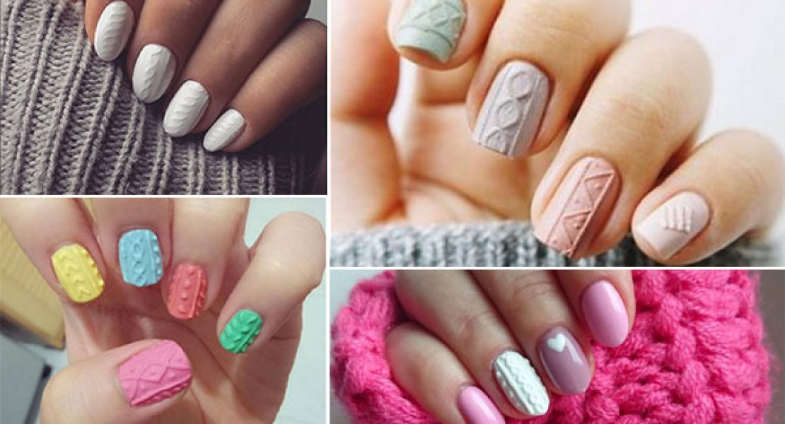 Knit Nails – der neue Nagellack-Trend in Strick-Optik