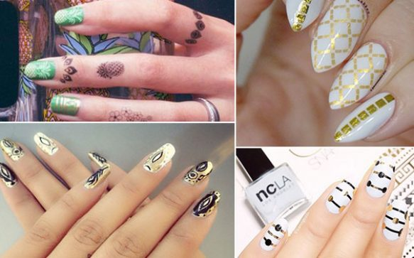 Schick und trendy:  Nailart Flash Tattoos