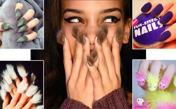 Furry Nails – der haarige Nagel-Trend
