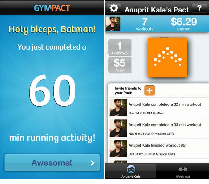 Gympact App