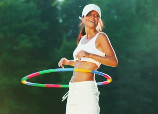 Hula Hoop Workout