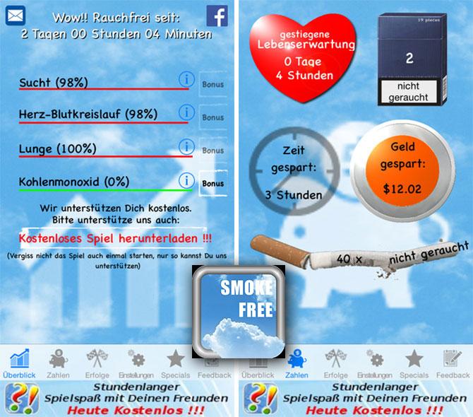Smokefree Rauchfrei App