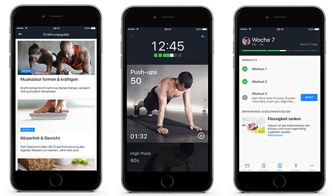Runtastic Results App