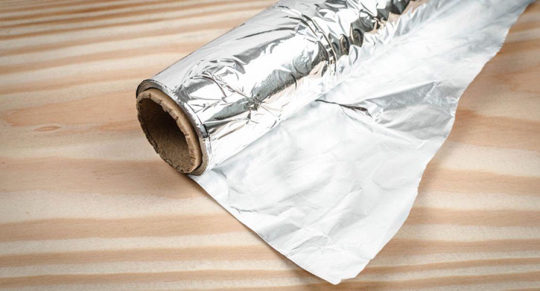 Life Hacks: Was du mit Aluminiumfolie alles anstellen kannst