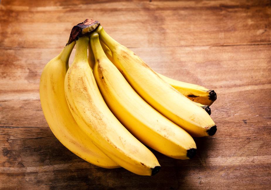 Bananen länger frisch mit Alufolie