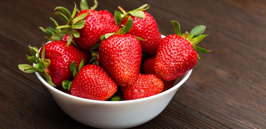 Snack Erdbeeren