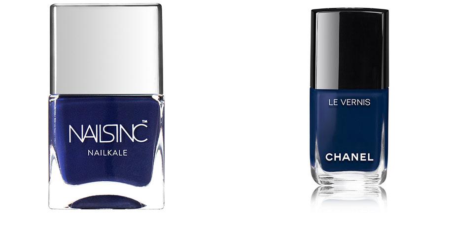 Nagellack Trend Farbe mitternachtsblau