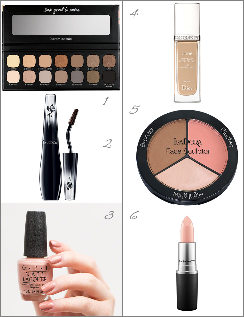 Nude Make-up Produkte