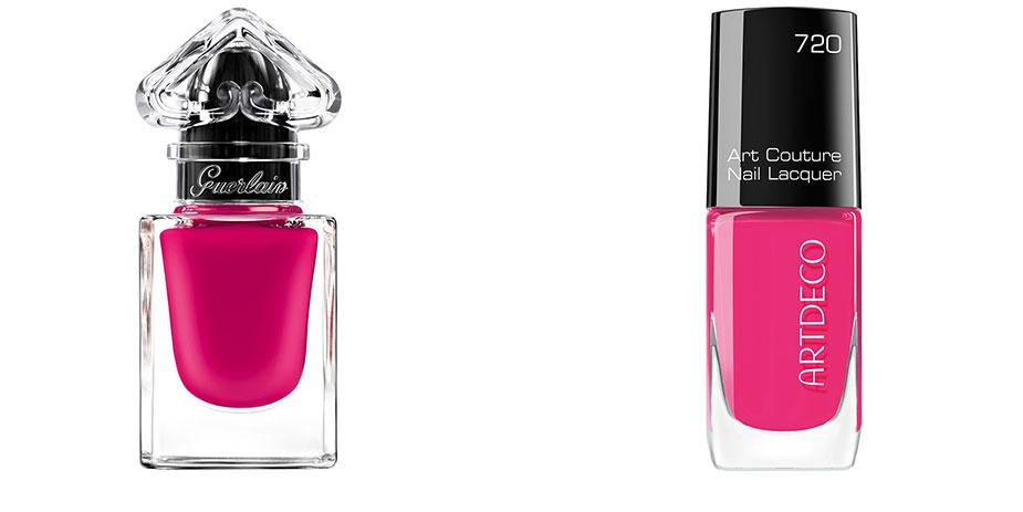 Sommer Nagellack pink