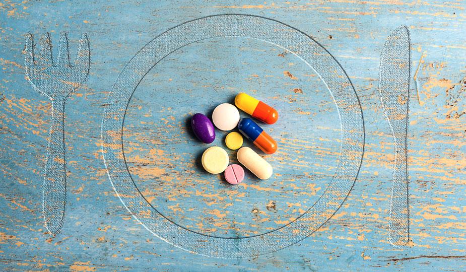 zunehmen durch Medikamente