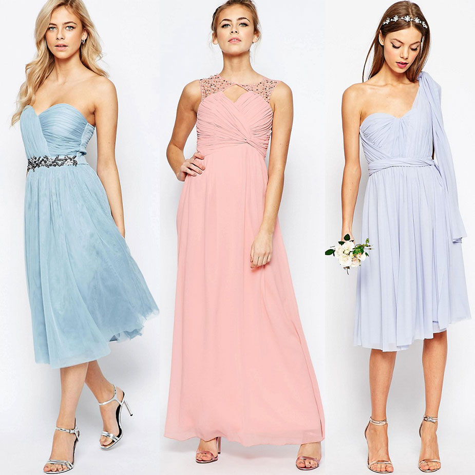 Brautjungfer Hochzeitskleider