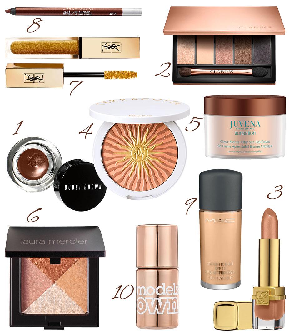 Bronze Make-up Produkte