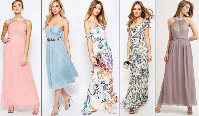 Kleider für Hochzeitsgäste & Brautjungfer
