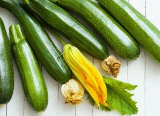 Zucchini gesundes Gemüse