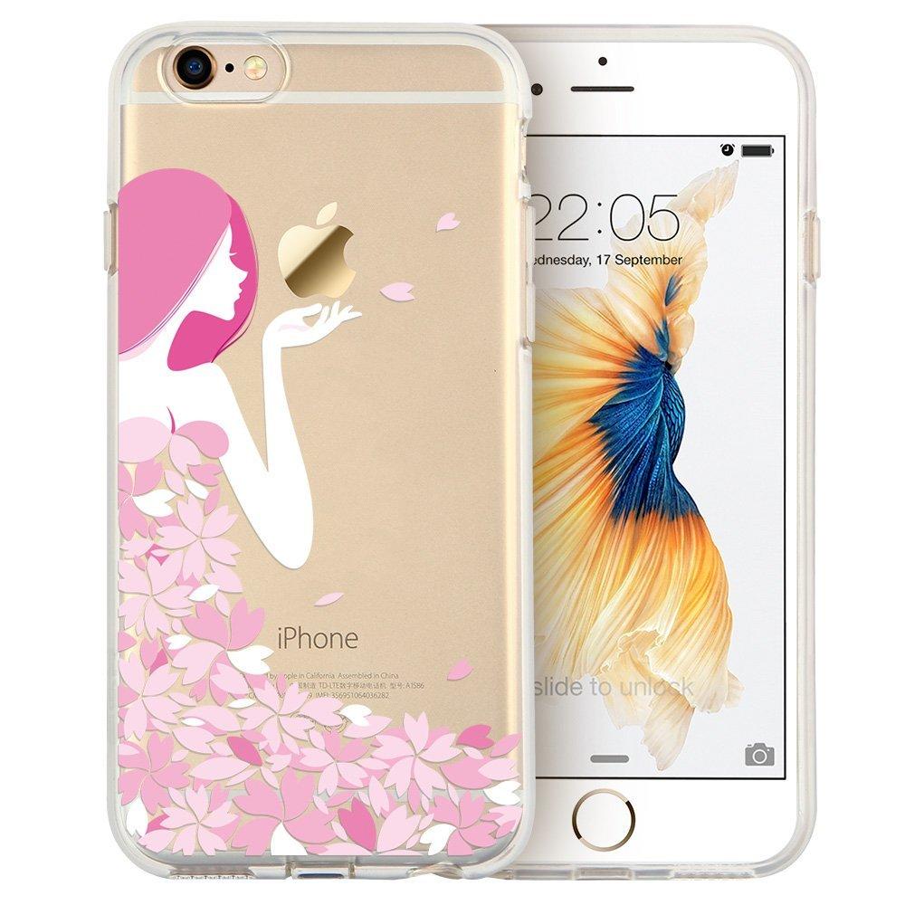 iPhone 6 / 6S Hülle Blüten Mädchen